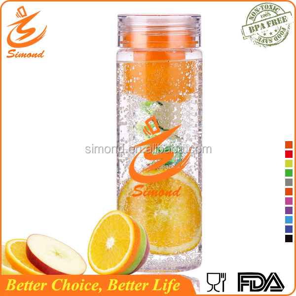 780ml bpa free brita water bottle for fruit juice