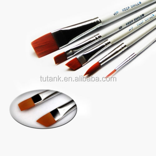 New Paint Brushes for Artist Acrylic Oil Watercolors Paintings
