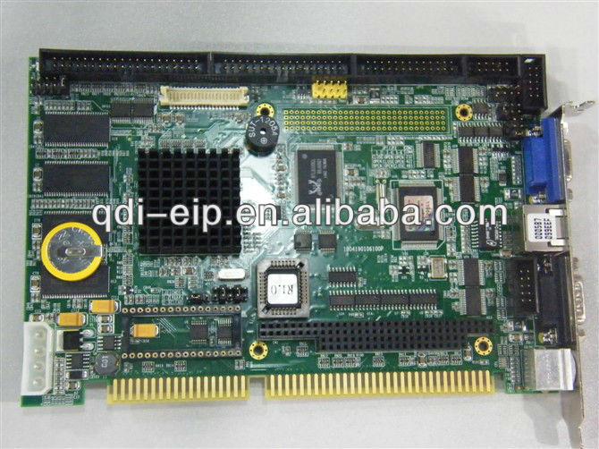 Half size ISA STPC Atlas 133MHz SBC with PC/104 ,32MB SDRAM , CRT/LCD and LAN