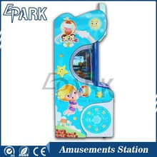 coin operated ticket redemption arcade pinball game machine Happy ABC drop a ball lottery prize game machine