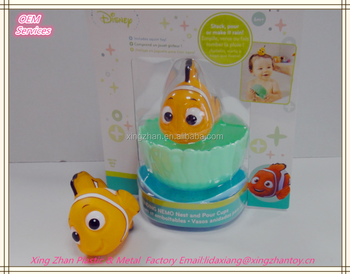 Soft baby bath toy of Nimo