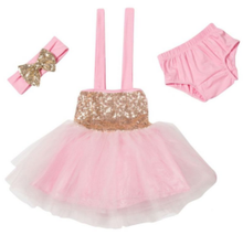Toddler tutu dress new arrive sequin dresses with bloomers and headband dress up design games