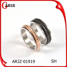 2015 Korean Simple style stainless steel rings male and female ring