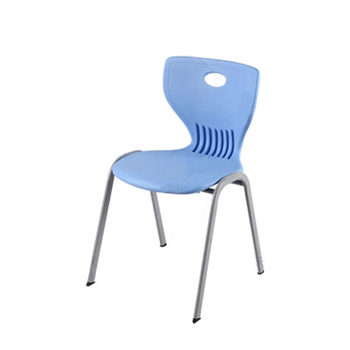 High Density PE Chair School Office Furniture Plastic Chairs with Modern Design