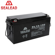 Vrla 12V 150ah deep cycle lead acid battery /Solar /ups/storage batterias