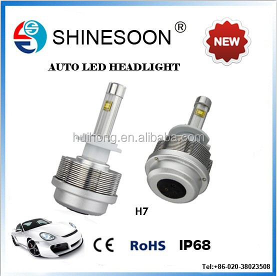 H7 Automobile spot led 12v lights car led light factory in Guangzhou