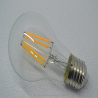 stock retro filament bulb led 4w3w pull taillight spiral cover warm lighting glass bulbs