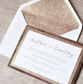 Wholesale Custom Printing Glitter | Shimmery Invitation Envelopes