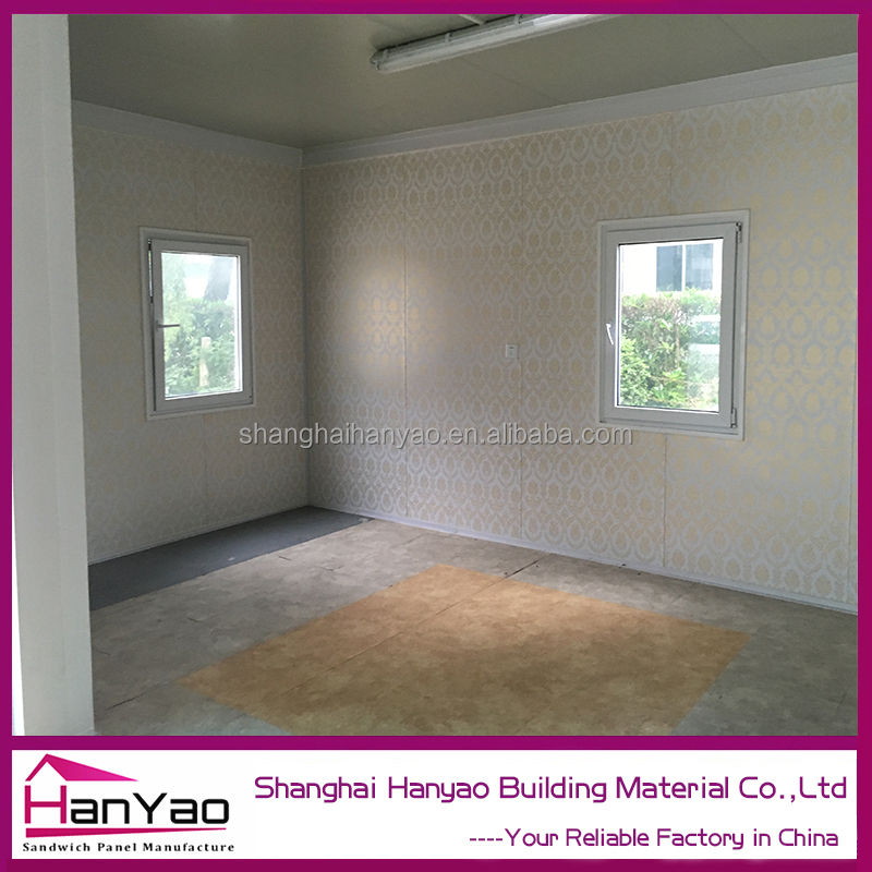shanghai Luxury Living Container House / Prefabricated Glass Container Home on sale
