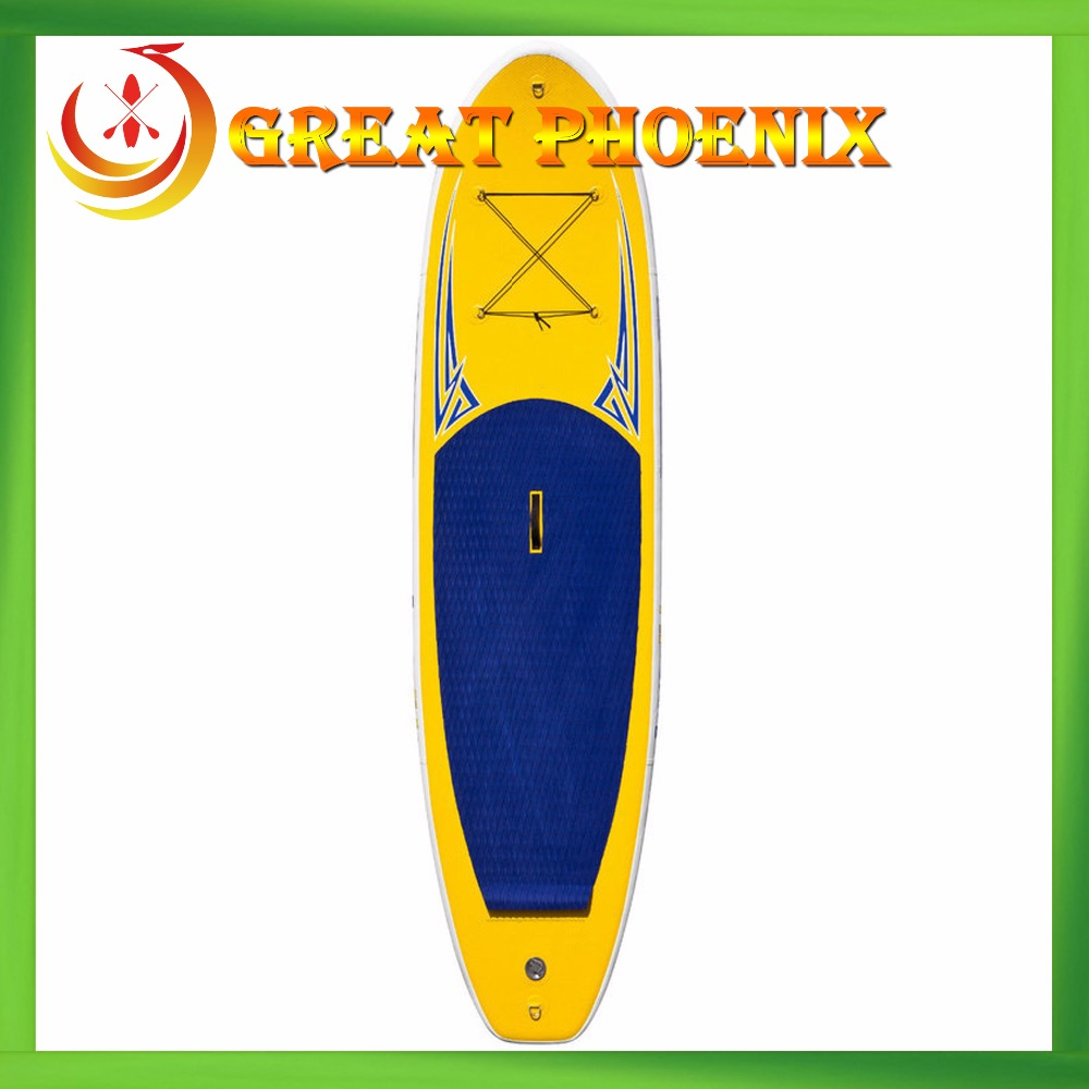 Customized korea drop stitch inflatable stand up paddle board