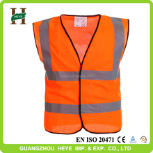 Roadway hi-vis safety clothin outdoor fashionable red safety vest