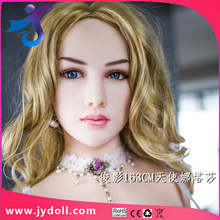JYdoll ilicone sex dolls 163cm for men, top quality lovely doll with skeleton,oral Anal vagina pussy three holes Big Breasts ass