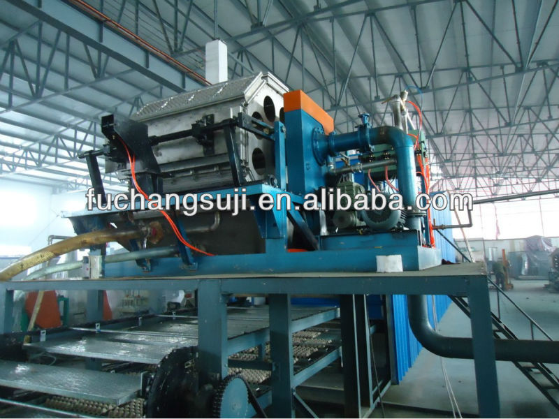Industrial waste paper recycling machine egg box production line CE and ISO Approved