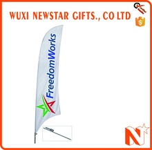 Promotional Cheap Price Feather Banner Flags