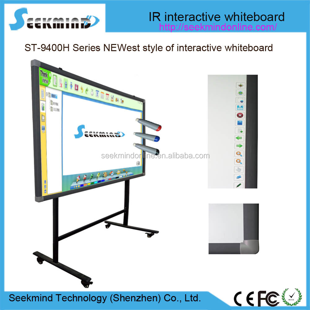 Factory Supply Finger Touch Infrared Interactive Whiteboard For Smart Education