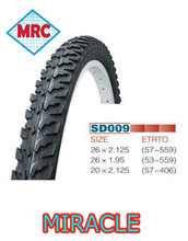 low price and high rubber rate bicycle tyre 26x2.35 on sale