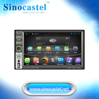 7 inch Android Universal Car DVD Stereo audio radio Auto china car dvd player with quad core,wifi, iPod, 16G flash