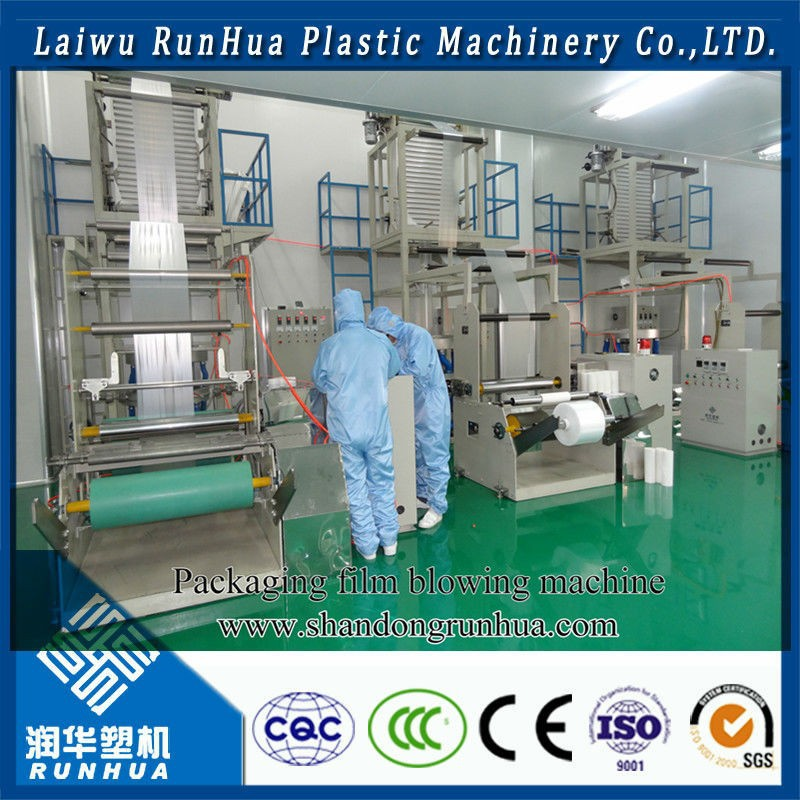 Four Line auto Punching Bag Sealing and Cutting Machine