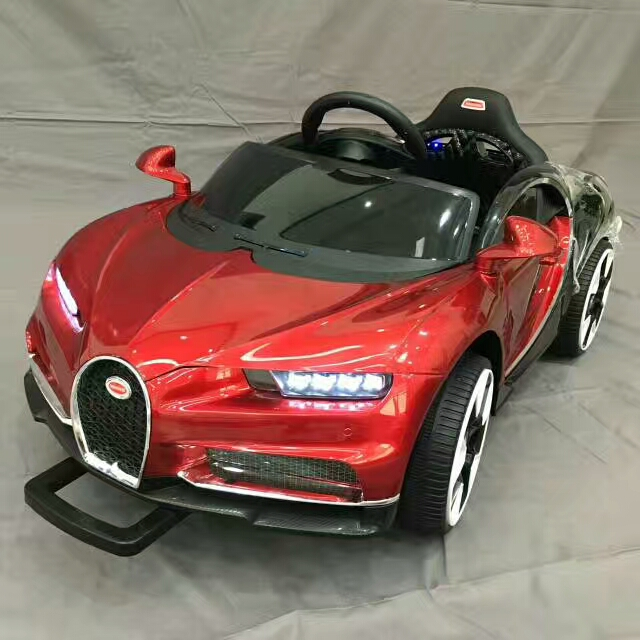 New fashion Bugatti design battery powered 12V kids ride on car with remote control