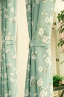 embroidered curtains and drapes sheer print curtain