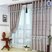 MT 4503 british style polyester living room curtain fabric print curtain