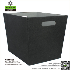High Quality Household Non-woven Storage Cube Organizer