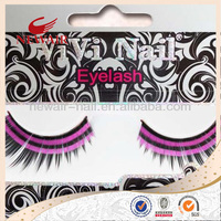 Black False Eyelashes Eyelash Make Up Hand Made Thick Long Natral Soft
