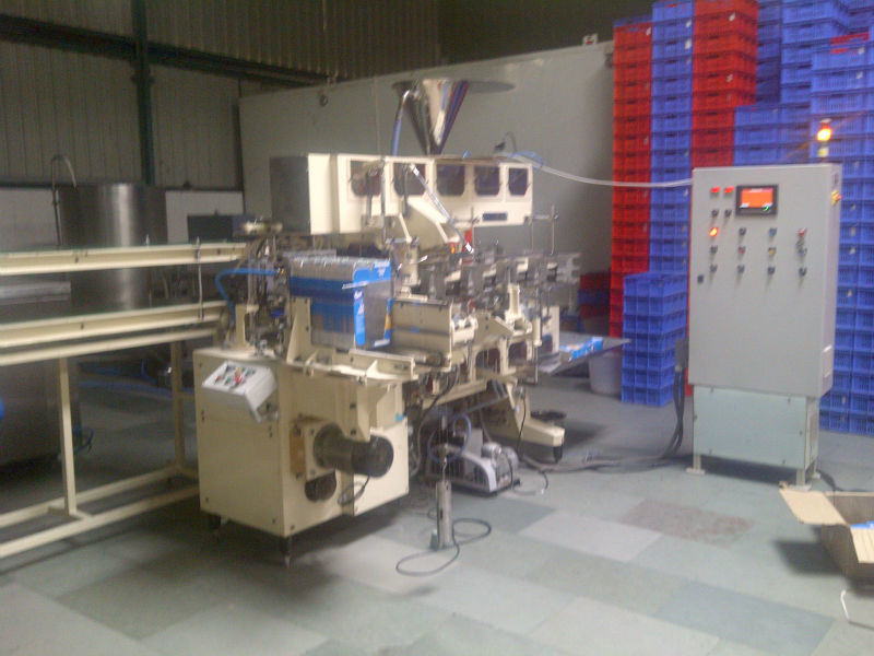 edible oil cartons packing machine