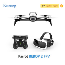 Koeoep Parrot BEBOP 2 FPV 1080p FHD Video Camera Quadcopter Drone with Parrot Cockpitglasses FPV Headset
