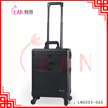 Professional multifunction cosmetic vanity trolley cosmetic case trolley makeup case