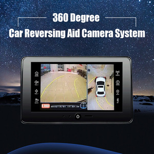 Car reversing aid DVR 360 vew car camera system