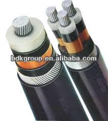 PVC insulated and sheathed 120mm power cable /flexible solar cell