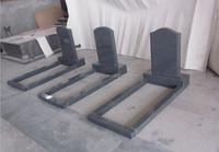 sesame black china g654 granite grave stone