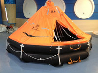 30MAN DAVIT LAUNCHED INFLATABLE LIFE RAFT SALE FOR LIFESAVING