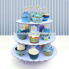 Pretty cup cake stand birthday party and Birthday/wedding favor