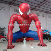 High quality inflatable spider man