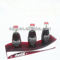 Acrylic drinks display stand for soft drink