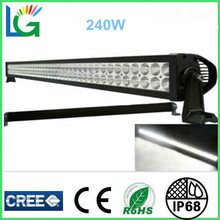 2014 New Volvo FM12 Truck Parts 44 Inch CREE 240W LED Bar Lights OFF Road 4x4 4WD LED Lights