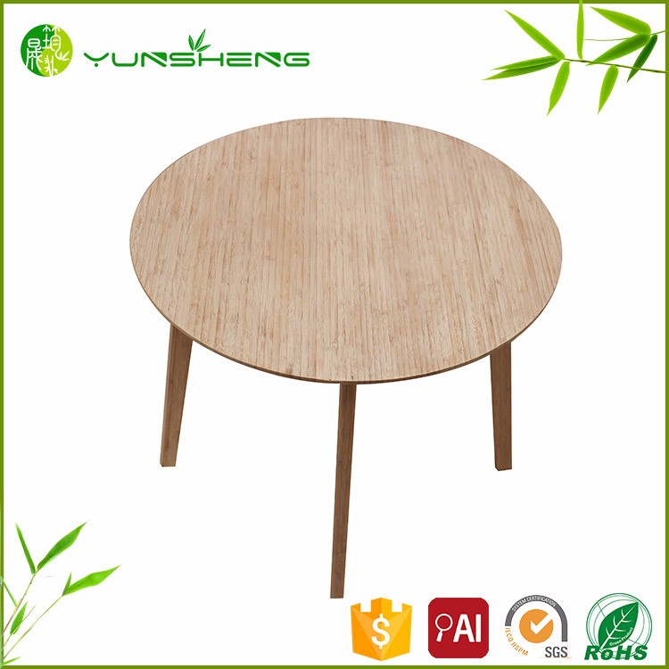 Portable Natural Bamboo Modern Coffee Table