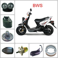 BWS for yamah motorcycle parts rear wheel/front rim/guard comp/speedometer gear/Seat assy to South America market from China
