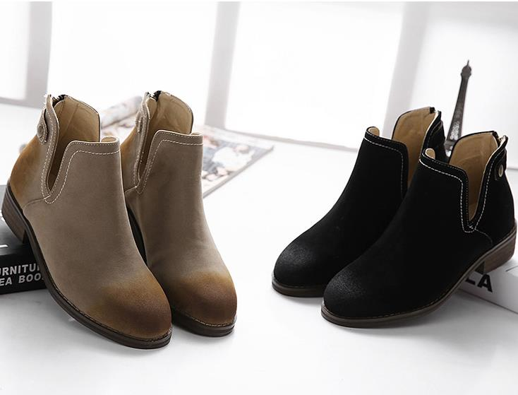 S61688A new 2015 ladies vintage casual shoes women fashion ankle boots