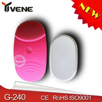 ultrasonic machine Deep Cleaning face brush for girls