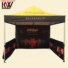 10x10ft Gazebo Folding Tent With 600D Oxford Fabric Canopy