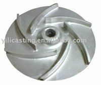 stainless steel pump impeller precision casting OEM China foundry