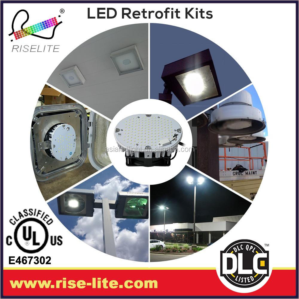 Ul Dlc Dimmable Shoebox Led Parking Lot Lighting Street