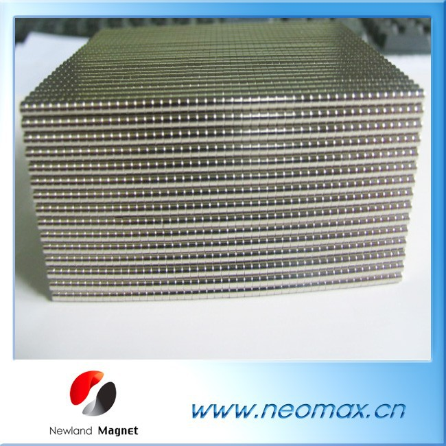 Customized small cylinder neodymium magnets for jewelry use for hot sale