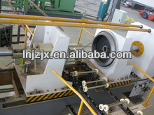 Edge folding machine for Steel drum production line