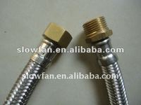Flexible wash basin hose (bathroom fittings)