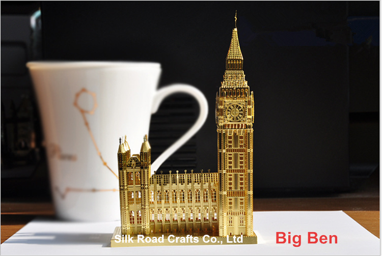 Big Ben 3d puzzle by brass