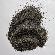 Surface sand removing chilled iron grit for steel structure pretreatment production line use